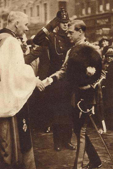'Welsh Guards Come of Age', 1937-Unknown-Photographic Print