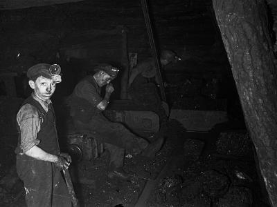 Welsh Miners--Photographic Print
