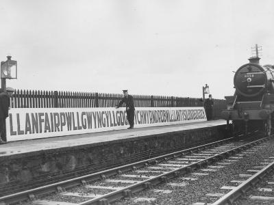 Welsh Station-Fox Photos-Photographic Print