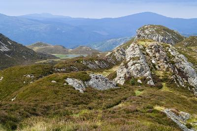 Welsh Upland Mountain Landscape: Pared Y Cefn-Hir--Photographic Print