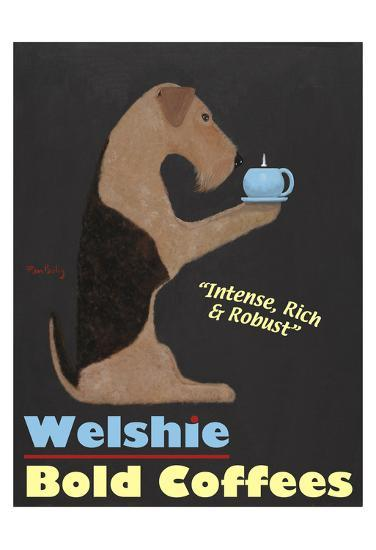 Welshie Bold Coffees-Ken Bailey-Limited Edition