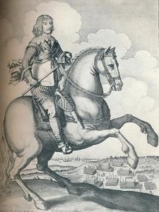 'Algernon Percy, 10th Earl of Northumberland', 1640 by Wenceslaus Hollar