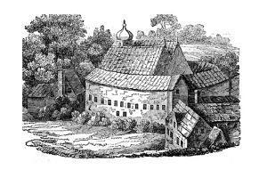 Bear Garden, Southwark, London, after its Third Rebuilding, 1648 by Wenceslaus Hollar