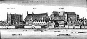 City of Westminster, 1647 by Wenceslaus Hollar