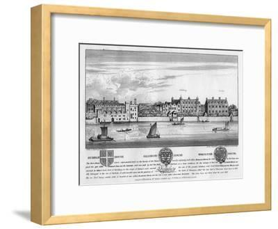 Durham House, Salisbury House, and Worcester House, London, C1630