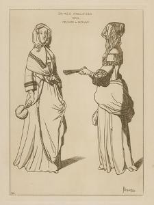 English Women, 1644 by Wenceslaus Hollar