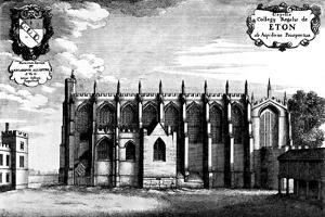 Eton College Chapel by Wenceslaus Hollar