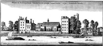 Lambeth Palace, London, 1647