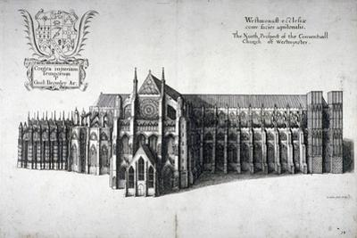 North View of Westminster Abbey, London, 1654