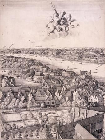 Panoramic View of London, C1670