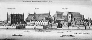 Part of the City of Westminster, 1647 by Wenceslaus Hollar