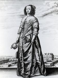 Spring, 1643 (Etching) by Wenceslaus Hollar