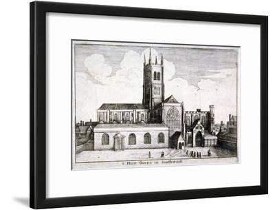 St Mary Overie's Church, Southwark, London, 1647