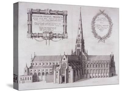 St Paul's Cathedral, London, 1657