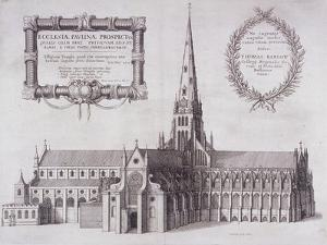 St Paul's Cathedral, London, 1657 by Wenceslaus Hollar