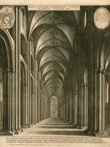 St Paul's Cathedral, London by Wenceslaus Hollar