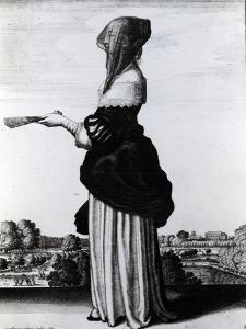 Summer, 1644 (Etching) by Wenceslaus Hollar