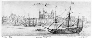 The Tower of London, C.1637-41 by Wenceslaus Hollar