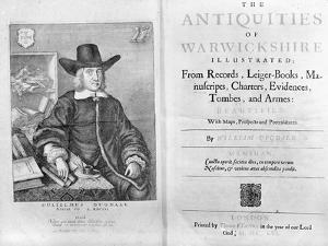 Titlepage and Frontispiece to 'The Antiquities of Warwickshire' by William Dugdale, 1656 by Wenceslaus Hollar