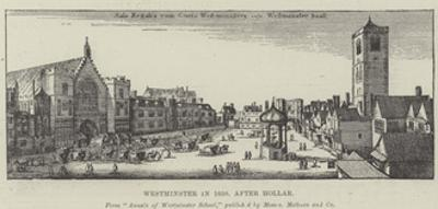 Westminster in 1650