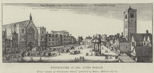Westminster in 1650 by Wenceslaus Hollar