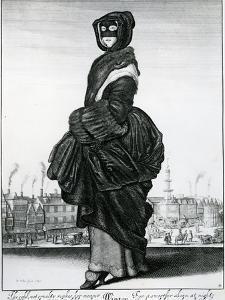 Winter, 1643 (Etching) by Wenceslaus Hollar