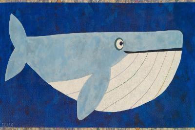 Wendell the Whale-Casey Craig-Art Print