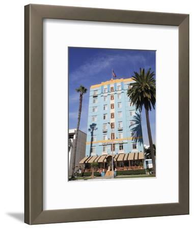 Art Deco, Georgian Hotel, Ocean Avenue, Santa Monica, Los Angeles