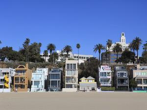 Beach Houses, Santa Monica, Los Angeles, California, United States of America, North America by Wendy Connett