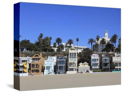 Beach Houses, Santa Monica, Los Angeles, California, United States of America, North America