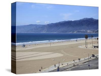 Beach, Santa Monica, Malibu Mountains, Los Angeles, California