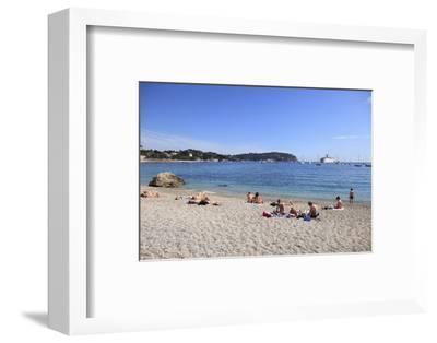 Beach, Villefranche Sur Mer, Cote D'Azur, French Riviera, Alpes Maritimes