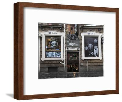 Beatles Shop, Mathew Street, Liverpool, Merseyside, England, United Kingdom, Europe