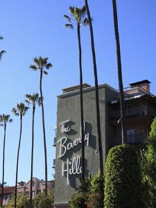 Beverly Hills Hotel, Beverly Hills, Los Angeles, California, Usa by Wendy Connett