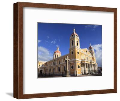 Cathedral De Granada, Park Colon, Park Central, Granada, Nicaragua, Central America