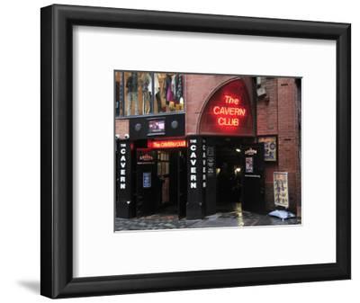 Cavern Club, Mathew Street, Liverpool, Merseyside, England, United Kingdom, Europe