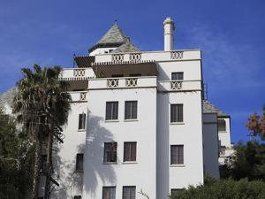 Chateau Marmont Hotel, Sunset Boulevard, Los Angeles, California by Wendy Connett