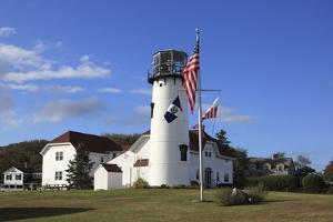 Chatham Lighthouse, Chatham, Cape Cod, Massachusetts, New England, Usa by Wendy Connett