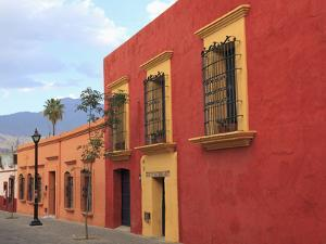 Colonial Architecture, Oaxaca City, Oaxaca, Mexico, North America by Wendy Connett