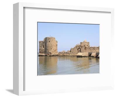 Crusader Sea Castle, Sidon, Lebanon, Middle East