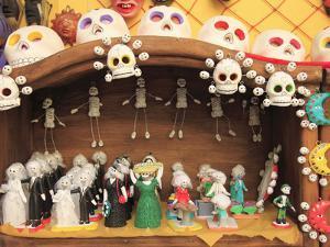 Day of the Dead Folk Art, Oaxaca City, Oaxaca, Mexico, North America by Wendy Connett