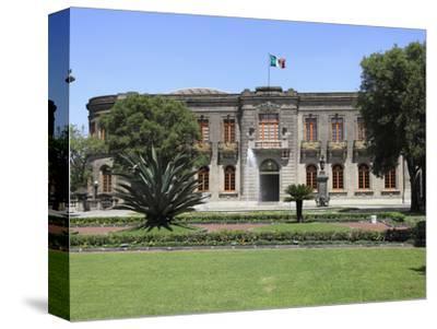 El Castillo De Chapultepec (Chapultepec Castle), Chapultepec Park, Chapultepec, Mexico City, Mexico