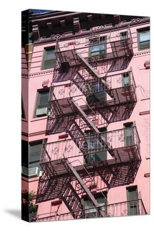 Fire Escape, Soho, Manhattan, New York City, United States of America, North America
