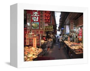 Food Vendors, Namdaemun Market, Seoul, South Korea, Asia by Wendy Connett
