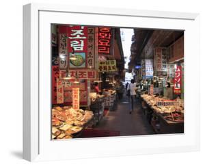 Food Vendors, Namdaemun Market, Seoul, South Korea, Asia by Wendy Connett