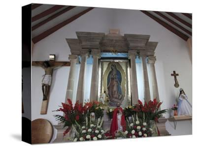Guadalupe Chapel, Church of Ojeda, a Major Pilgrimage Site, Taxco, Guerrero State, Mexico