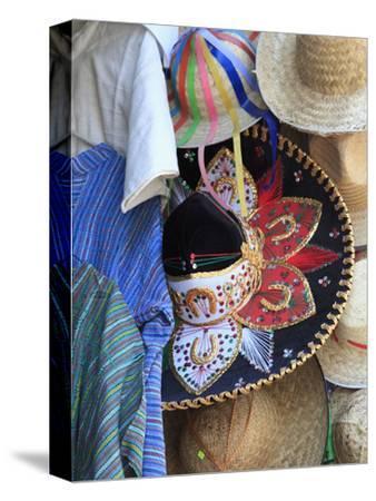 Hats, Souvenirs, Puebla, Historic Center, Puebla State, Mexico, North America