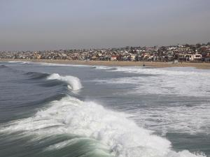 Hermosa Beach, Pacific Ocean, Los Angeles, California, United States of America, North America by Wendy Connett