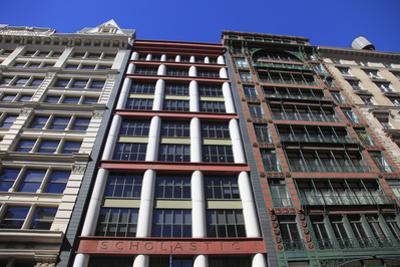 Historic Loft Architecture, Soho, Manhattan, New York City, United States of America, North America