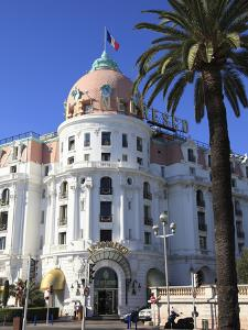 Hotel Negresco, Promenade Des Anglais, Nice, Alpes Maritimes, Cote D'Azur, French Riviera, Provence by Wendy Connett